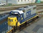 CSXT EMD GP38-2 2810