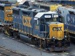 CSXT EMD GP38-2 2651