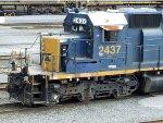 CSXT EMD SD40-2 2437