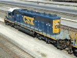 CSXT EMD SD38-2S 2445