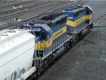 ICE EMD SD40-2's 6444 & 6401