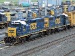 CSXT EMD GP38-2's 2724 & 2628