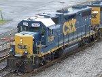 CSXT EMD GP38-2 2628