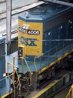 CSXT EMD SD40-3 4006