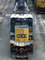 CSXT EMD SD40-3 4003