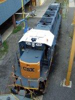 CSXT NRE 3GS21C-DE 1600