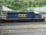 CSXT EMD SD40-2 2439