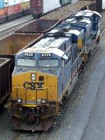 CSXT GE ES44AC's 853 & 893