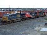 CSXT 5242, CN 5715, & CN 5683