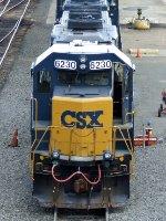 CSXT EMD GP40-2 6230