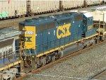 CSXT EMD SD40-2 8305
