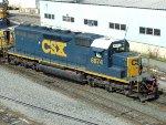 CSXT EMD SD40-2 8874