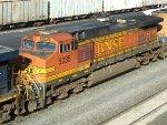 BNSF GE C44-9W 5235