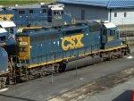CSXT EMD SD40-2 8881