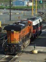 BNSF 7352 & CDOT 230