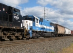 GMTX SD60 #9051 on NS 34A