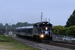 RNCX 1810 leads train 73 past the fairgrounds
