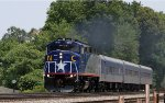 RNCX 1810 leads train 75 southbound past mp 285