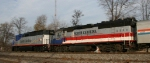RNCX 1792 & 1755 lead train 73 southbound