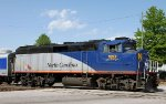 RNCX 1893 backs train P074 towards the yard