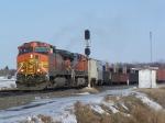 Westbound Manifest Train