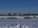 AMTK 15 on the Point of the Westbound Empire Builder, Trains #7 & 27