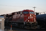 CP 8776 Blows Through a Crossing