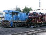 PNRR GE C39-8 8202 & NHIR EMD GP30 2198