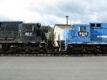 NSSX GE C39-8's 8211 & 8212