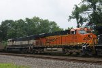 BNSF Power on NS 400