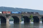 Conrail Heritage Unit on NS 11R