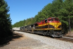 KCS 4062 leads NS 220 towards Atlanta