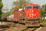 CN 331 arriving for a crew change