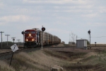 CP 8856 Crosses the BNSF Diamond