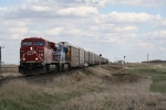 CP 8856 Passes MP 530 on the Portal Sub on the Way to Saskatchewan