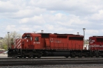CP 6049 Backs a Transfer Down to the BNSF Yard