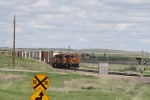BNSF 1032 Leads a Westbound Doublestack Train