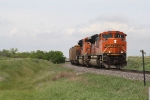 BNSF 9268 Rumbles Across the Plains