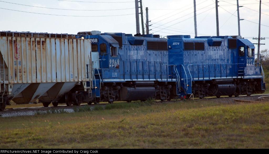 Locomotive Leasing Partners/LLPX 2268 & 2274