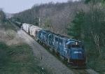 CR 6832 BUEN Buffalo-Enola(Harrisburg) Southbound near Holland NY