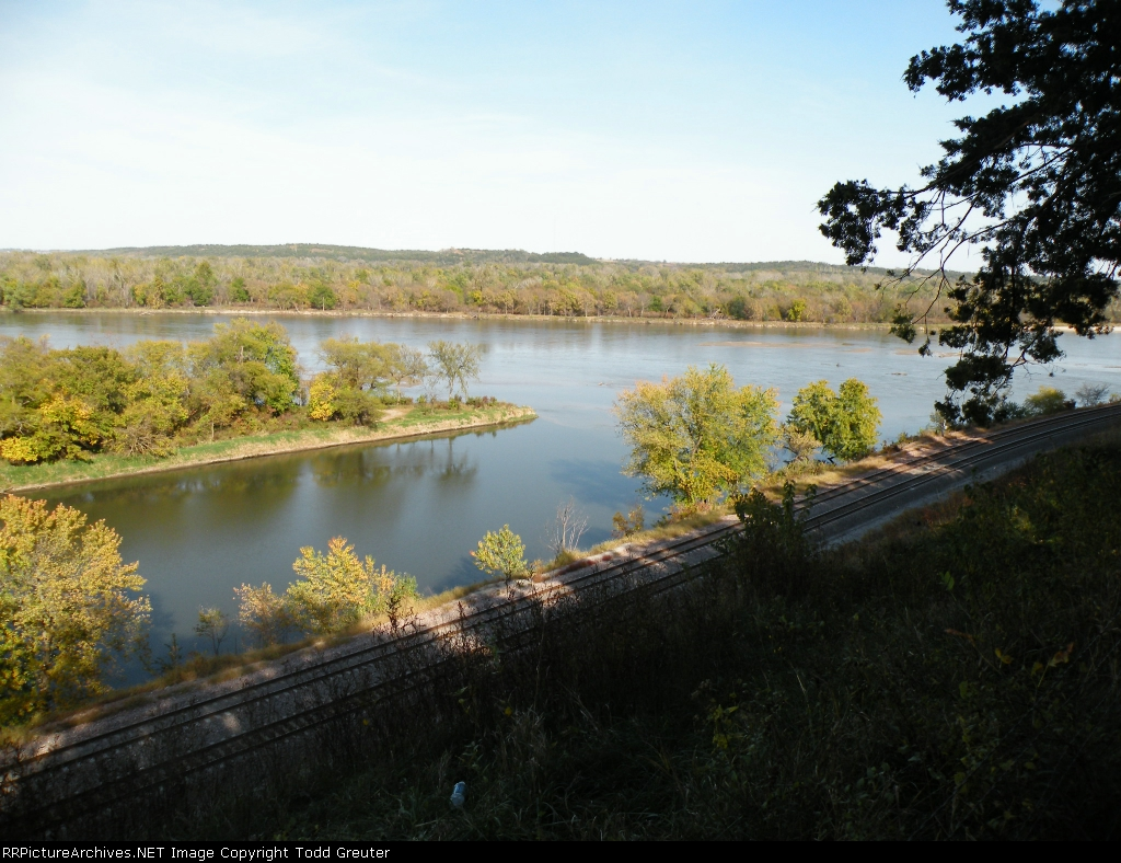 BNSF Double Track along the Platte River