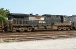 NS 9547 on SB NS freight