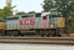 KCS 2826 leading a yard job