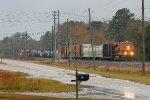 KCS 4797 pulling a freight toward Birmingham