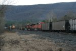 SB coal about to meet NB freight