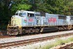 TFM 1631 on SB freight