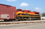 KCS 4038 pusher for a SB freight