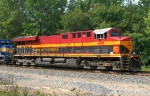 KCS 4688 leading SB grain train