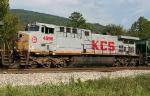KCS 4596 pusher on SB grain