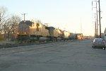 UP SB freight heading for Texarkana